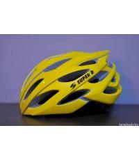 หมวกจักรยาน Super D 808 [เหลือง]