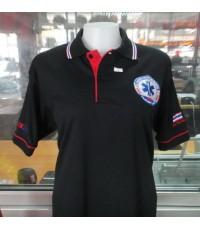 เสื้อโปโล EMS ผ้าเนื้อดี ราคา 290 บาท ค่าจัดส่ง 20 บาท ทั่วประเทศ !!