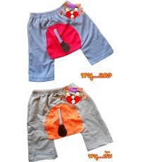กางเกงแฟนซี...มีหาง...สีแดง...ส้ม...หนูน้อย...น่ารักน่าใช้สุดสุด Size S, L, XL