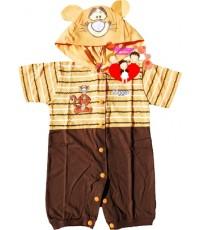 ชุดแฟนซี...หมีขาสั้น...สีส้มน้ำตาลเสือน้อย Tigger น่ารักน่าใช้สุดสุด Size S, M, L