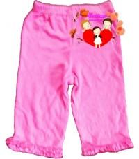 กางเกงขายาว...Carter\'s...สีชมพูเข้ม...ขอบขาระบาย...น่ารักน่าใช้สุดสุด Size 6-9M