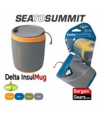 แก้วน้ำดื่ม มีฝาปิดและป้องกันความร้อน Sea To Summit Delta Insul Mug 473ml.