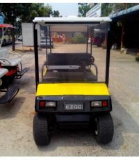 รถกอล์ฟไฟฟ้าโซล่าเซลล์ EZGO 4 ที่นั่ง บูรณะใหม่