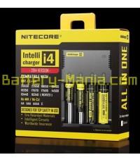 NITECORE Intellicharger i4 2014 Version เครื่องชาร์จแบตอัจฉริยะรุ่นปรับปรุงใหม่ รองรับแบต IMR