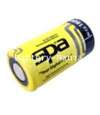 SPA Ni-Cd Sub-C 1.2V 1800mAh D-SC1800-HT Flat top Battery