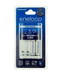 panasonic eneloop basic charger 10HR พร้อมถ่าน AA 2 ก้อน