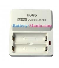 เครื่องชาร์จเร็ว 4 ชม. SANYO quick charger NC-TDR02 ขนาดกะทัดรัดสุด ๆ