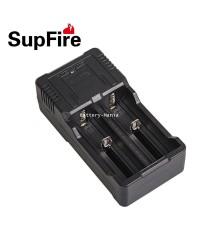 เครื่องชาร์จ USB dual-slot charger SupFire AC26 for 26650/18650 lithium battery