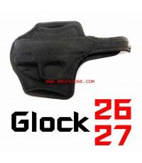 ซองปืน แข็ง เข้ารูป Glock 26 ,27
