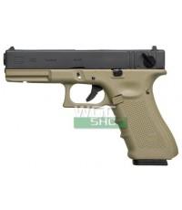 WE G18C  Glock 18C Tan ทราย