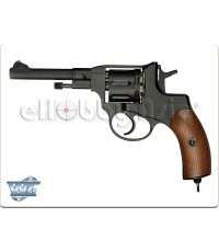 Wingun NAGANT M1895 ลูกโม่ CO2 Full Metal 6mm Revolver (Black)