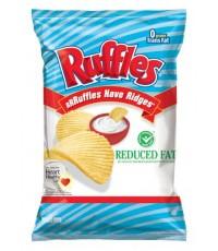 Frito Lay Ruffles Reduced Fat 184.2 g.  ถุงใหญ่จัมโบ้