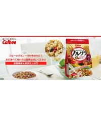Calbee Natural Fruit Granola 380 g.