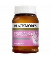 Blackmores Pregnancy and Breastfeeding Gold 180 เม็ดค่ะ วิตามินบำรุงสำหรับคุณแม่ตั้งครรภ์และให้นมค่ะ