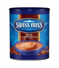 Swiss Miss Rich Chocolate ช็อคโกแล็ตเข้มข้น กระป๋อง 1.98KG
