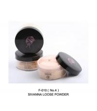 แป้งฝุ่น SIVANNA Loose powder ของแท้ฝาดำคุมมัน