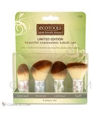 แปรงคาบูกิ  Ecotools-Limited-Edition-Kabuki-Set เซตแปรง 4 ชิ้นขนาดพกพาน่ารัก