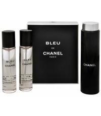 น้ำหอมพกพา Chanel Bleu de Chanel for men EDT 3x20ml. ขวดพกพาพร้อมรีฟิว