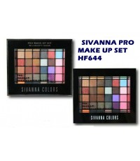 พาเลท SIVANNA PRO MAKE UP SET HF644 สีสันเยอะเนื้อสดใส