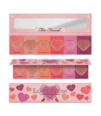 too faced love flush blush  พาเลทบรัชออน 6 โทนสีในตลับเดียวงานดีเยี่ยม