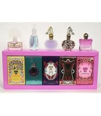 Anna Sui Eau de Toilette Miniature Collection Travel Gift Perfume 5Pcs หัวแต้ม