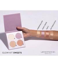 ANASTASIA BEAUTY HILLS  Glow kit sweet (set) ไฮไลท์บรอนเซอร์หรือปัดแก้มสวยเด่นชัด