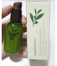 Innisfree The Green Tea Seed Serum 80 ml. เซรั่มบำรุงผิวเมล็ดชาเขียว สินค้างานตามภาพถ่ายจริง