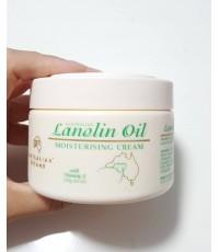 Australian Lanolin Oil Moisturising Cream with vitamin E ลดริ้วรอย เสริมสร้างคอลลาเจนกระปุก 250 g .