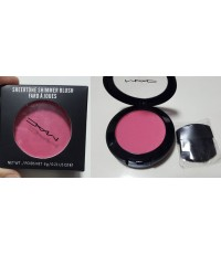 ปัดแก้ม MAC Sheertone powder blush ตลับกลมเดี่ยวสีสวยสดชัด เบอร์ 7 สีชมพูประกายปัดแล้วสวยมากๆ