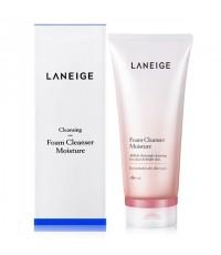 Laneige Foaming Cleanser Moisture 180 Ml.สูตรสำหรับผิวแห้งถึงผิวธรรมดา