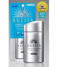 ครีมกันแดด Shiseido ANESSA Essence UV Sunscreen Aqua Booster 60ml. (สีเงิน เหมาะสำหรับผิวแห้ง)