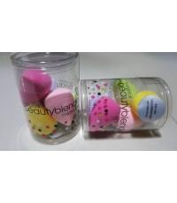 พัฟไข่โมเม beauty blender micro mini ขนาดมินิแพค 5 ชิ้น