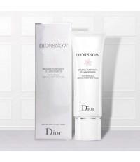 Dior Snow White Reveal Gentle Purifying Foam 110ml.โฟมล้างหน้าขนาดจริงงานมีกล่องตามภาพ