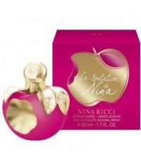 Nina Ricci La Tentation De Nina Edt 50ml.แอ๊ปเปิ้ลแดงกลีบทอง