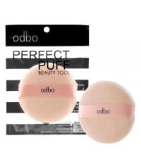Odbo perfect puff beauty tool พัฟแป้งฝุ่นเนื้อหนานุ่ม แพค 1 ชิ้น