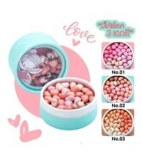 ODBO fairy candy perals blusher od195 บรัชออนเม็ดัวใจสุดน่ารักเนื้อไฮไลท์ปัดสวยเกาหลีตัวจริง