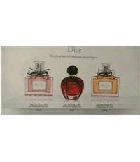 น้ำหอมเทสเตอร์เซต dior les parfums de l\'avenue montaigne ขนาด 30ml. x3 (หัวเสปรย์)