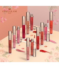Gina Glam silky matte lipgloss swatch G89 กรสอเนื้อซิลกี้เนื้อแมท์แต่ยังคงความอวบอิ่มเป็นธรรมชาติ