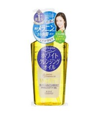 KOSE Softymo White Cleansing Oil Keratin Removal / Dry Hand Use 230ml. ของแท้ค่ะ