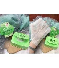 Cool Betty Aloe makeup remover wipes 32pcs. ทิชชู่ทำความสะอาดสูตรอะโลเวล่า