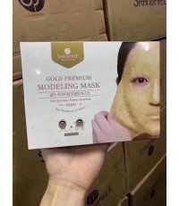 Shangpree Gold Premium Modeling Mask (5 Sheets) แผ่นมาส์กหน้าทองคำระดับพรีเมี่ยม