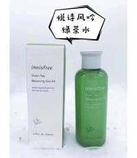 Green tea balancing skin 200ml โทนเนอร์สูตรน้ำ ด้วยประสิทธิภาพของน้ำสกัดจากชาเขียวออร์แกนิกเชจู