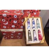 L\'Occitane hand cream collection 30ml. x 6 pcs กล่องของขวัญสวยงาม