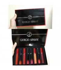 Giorgio Armani Armani 8 Red Tube Lip Glaze ลิปเกรซแพค 8 แท่ง  มิลเลอร์ถ่ายจากสินค้าจริงที่จำหน่ายค่ะ