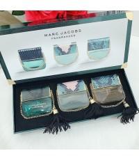 น้ำหอมเทสเตอร์หัวฉีด Marc Jacobs Fragrances Set for Women With 25ml.×3ชิ้นแพคกล่องของขวัญสวยหรู