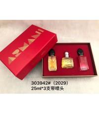 น้ำหอมเทสเตอร์หัวฉีด Giorgio armani for women  25ml.×3ชิ้นแพคกล่องของขวัญสวยหรู
