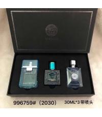 น้ำหอมเทสเตอร์หัวฉีด Versace Collection for men กิ๊ฟเซ็ท 30ml.×3ชิ้นแพคกล่องของขวัญสวยหรู