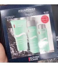 BIOTHERM ชุดผลิตภัณฑ์ดูแลผิว Homme Aquapower Travel set 3 pcs. จำนวน 3 ชิ้น