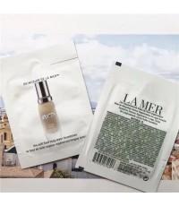 LA MER รองพื้น The Soft Fluid Long Wear Foundation SPF 20 ขนาดทดลองซองใช้ต่อครั้ง (แพค 10 ชิ้น)