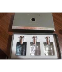 Bvlgari pour homme set 3 pcs.ขนาดขวดละ 30 ml. มี 3 ขวดในเซตพร้อมกล่องสวยหรู